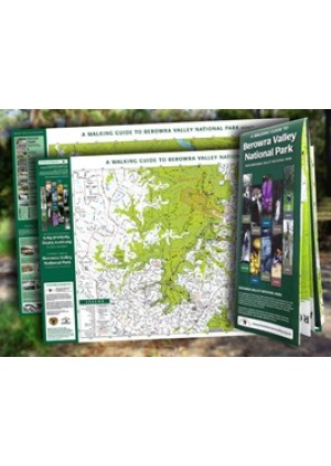 Walking Map for Berowra Valley